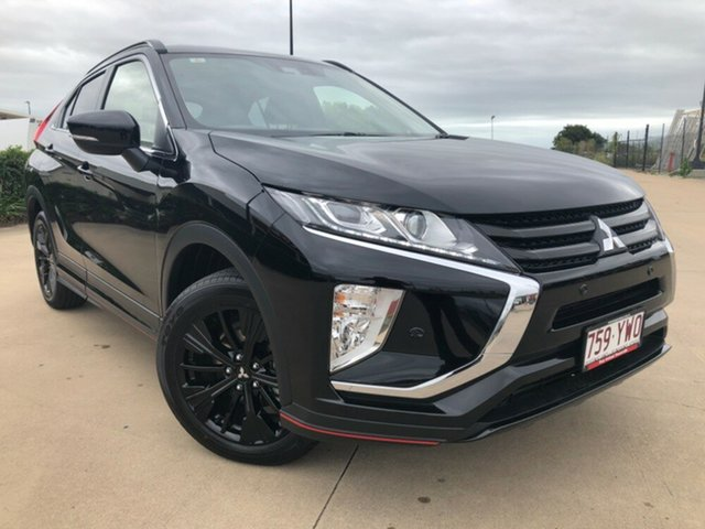 Used Mitsubishi Eclipse Cross YA MY19 Black Edition 2WD, 2019 Mitsubishi Eclipse Cross YA MY19 Black Edition 2WD Black 8 Speed Constant Variable Wagon