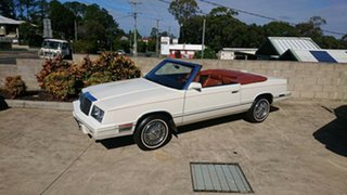1982 Chrysler LE Baron Cream Automatic Convertible.