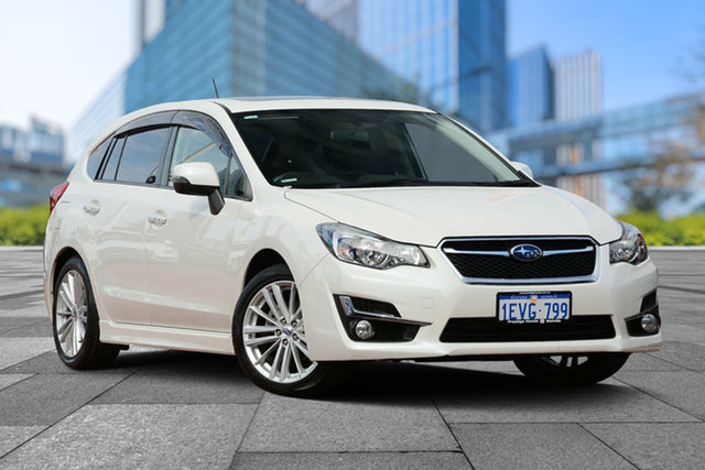 Used Subaru Impreza G4 MY14 2.0i-S Lineartronic AWD, 2015 Subaru Impreza G4 MY14 2.0i-S Lineartronic AWD White 6 Speed Constant Variable Hatchback