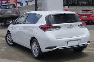 2017 Toyota Corolla ZRE182R Ascent Sport S-CVT Pearl White 7 Speed Constant Variable Hatchback.