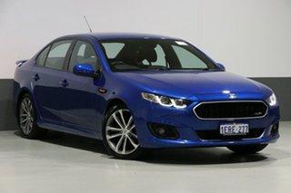 2014 Ford Falcon FG X XR6 Blue 6 Speed Auto Seq Sportshift Sedan.