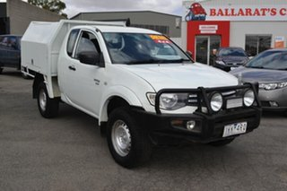 2012 Mitsubishi Triton MN White 5 Speed Manual Spacecab