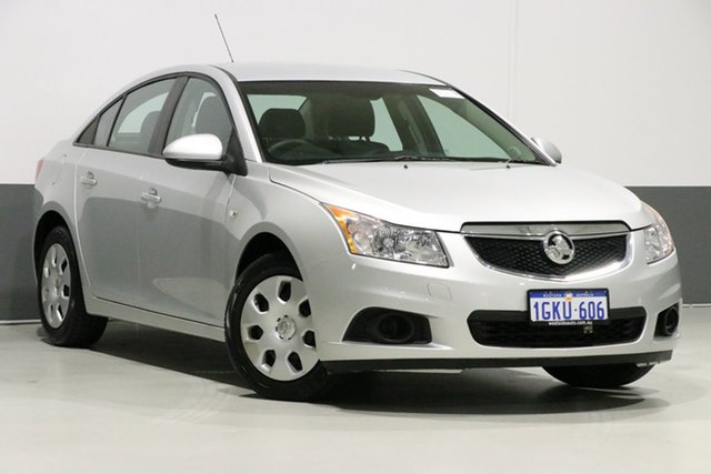 Used Holden Cruze JH CD, 2011 Holden Cruze JH CD Silver 6 Speed Automatic Sedan