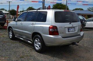 2006 Toyota Kluger MCU28R Upgrade CV (4x4) Silver 5 Speed Automatic Wagon.