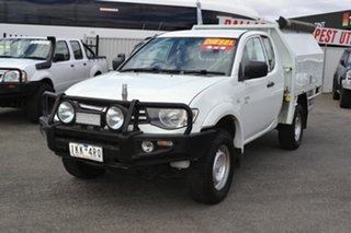 2012 Mitsubishi Triton MN White 5 Speed Manual Spacecab.