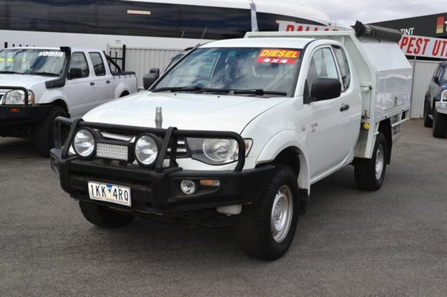 Used Mitsubishi Triton  , 2012 Mitsubishi Triton MN White 5 Speed Manual Spacecab