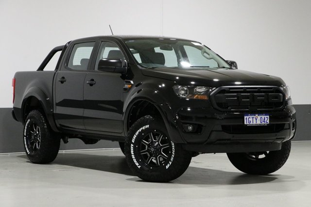 Used Ford Ranger PX MkIII MY19 XLS 3.2 (4x4), 2019 Ford Ranger PX MkIII MY19 XLS 3.2 (4x4) Black 6 Speed Automatic Double Cab Pickup