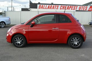 2014 Fiat 500 MY13 POP Red 5 Speed Automatic Hatchback.