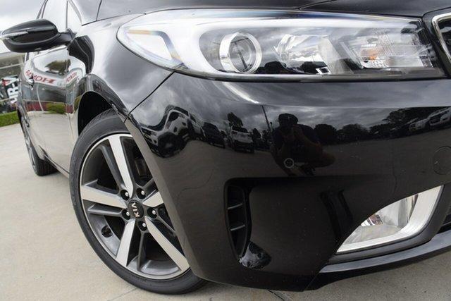 New Kia Cerato BD MY19 Sport+, 2019 Kia Cerato BD MY19 Sport+ Aurora Black Pearl 6 Speed Sports Automatic Hatchback