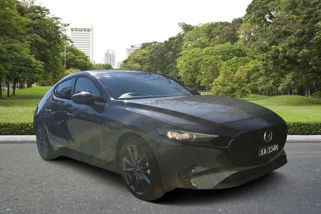 Demo Mazda 3 BP2HLA G25 SKYACTIV-Drive GT, 2019 Mazda 3 BP2HLA G25 SKYACTIV-Drive GT Polymetal Grey 6 Speed Sports Automatic Hatchback