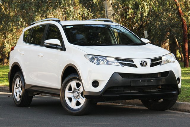 Used Toyota RAV4 ZSA42R MY14 GX 2WD, 2015 Toyota RAV4 ZSA42R MY14 GX 2WD White 7 Speed Constant Variable Wagon