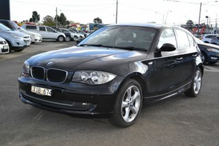2009 BMW 120i E87 MY09 Black 6 Speed Automatic Hatchback.