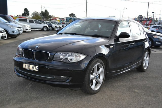Used BMW 120i E87 MY09 , 2009 BMW 120i E87 MY09 Black 6 Speed Automatic Hatchback