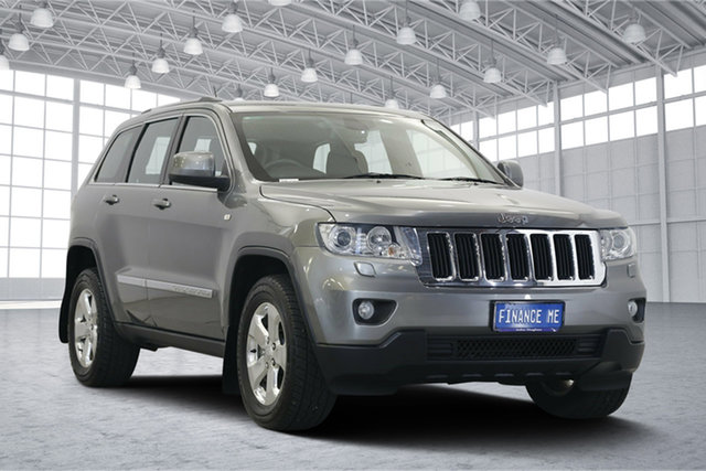Used Jeep Grand Cherokee WK MY2013 Laredo, 2012 Jeep Grand Cherokee WK MY2013 Laredo Mineral Grey 5 Speed Sports Automatic Wagon