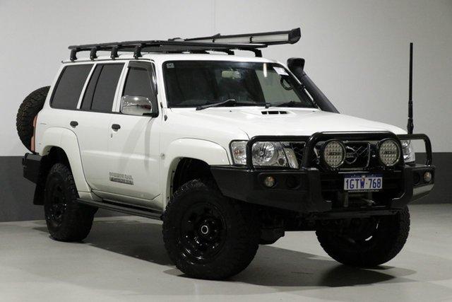 Used Nissan Patrol GU Series 10 DX (4x4), 2016 Nissan Patrol GU Series 10 DX (4x4) White 4 Speed Automatic Wagon