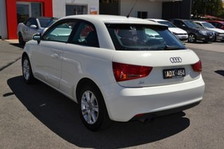 2011 Audi A1 8X Attraction White 6 Speed Manual Coupe.