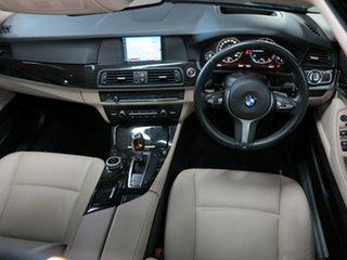 2012 BMW 5 Series F10 MY0911 520d Steptronic Black Sapphire 8 Speed Sports Automatic Sedan