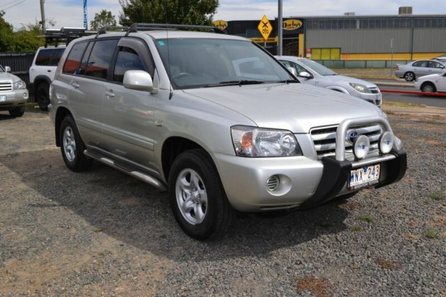Used Toyota Kluger MCU28R Upgrade CV (4x4), 2006 Toyota Kluger MCU28R Upgrade CV (4x4) Silver 5 Speed Automatic Wagon