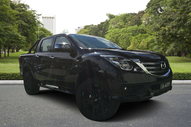 Demo Mazda BT-50 UR0YG1 XTR, 2019 Mazda BT-50 UR0YG1 XTR Jet Black 6 Speed Sports Automatic Utility