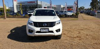 2018 Nissan Navara D23 SERIES III ST (4x4) Polar White 7 Speed Automatic Dual Cab Pick-up
