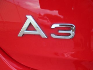 2008 Audi A3 8P Attraction S Tronic Red 6 Speed Sports Automatic Dual Clutch Convertible
