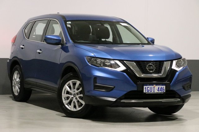 Used Nissan X-Trail T32 Series 2 ST 7 Seat (2WD), 2017 Nissan X-Trail T32 Series 2 ST 7 Seat (2WD) Marine Blue Continuous Variable Wagon