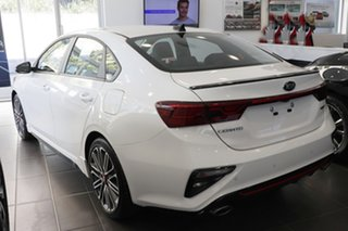 2020 Kia Cerato BD MY21 GT DCT Clear White 7 Speed Sports Automatic Dual Clutch Sedan.