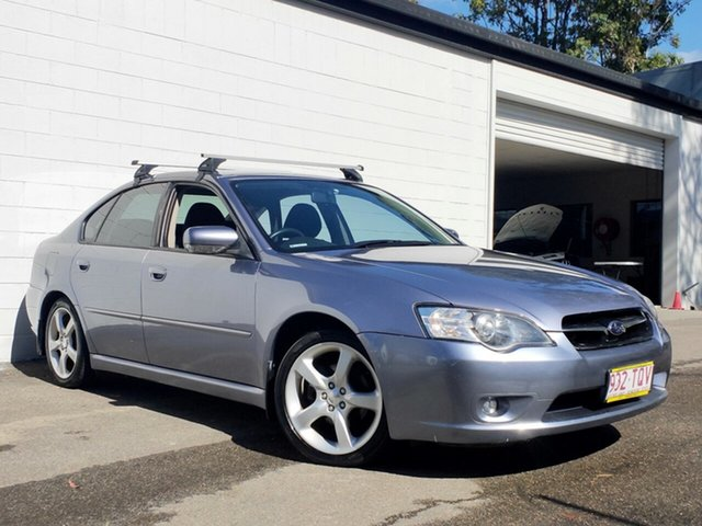 Used Subaru Liberty B4 MY06 2.0R AWD, 2006 Subaru Liberty B4 MY06 2.0R AWD Metallic Blue 4 Speed Automatic Sedan