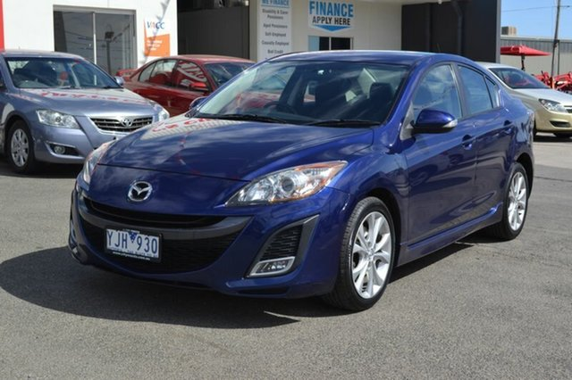 Used Mazda 3  SP25, 2011 Mazda 3 BL SERIES 1 SP25 Blue 6 Speed Manual Sedan