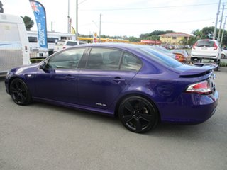 2010 Ford Falcon FG XR6 Turbo Purple 6 Speed Manual Sedan.