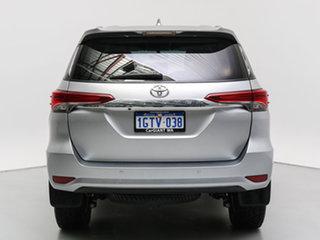2017 Toyota Fortuner GUN156R GXL Silver 6 Speed Automatic Wagon
