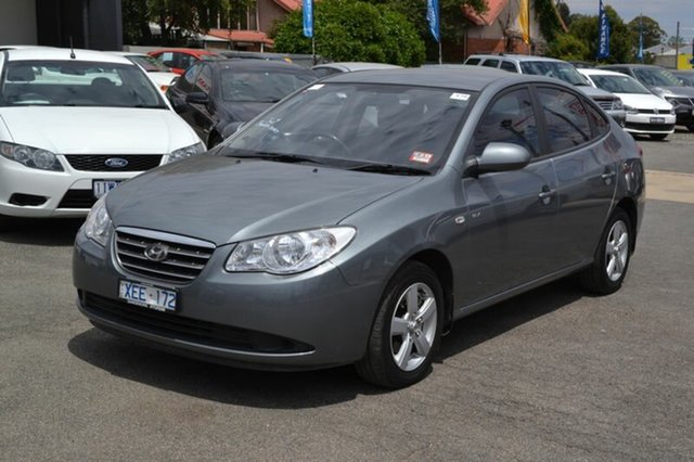 Used Hyundai Elantra HD MY10 SLX, 2009 Hyundai Elantra HD MY10 SLX Grey Automated Sedan