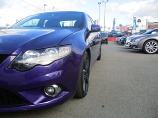 2010 Ford Falcon FG XR6 Turbo Purple 6 Speed Manual Sedan