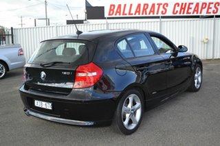 2009 BMW 120i E87 MY09 Black 6 Speed Automatic Hatchback