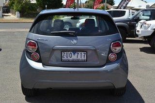 2013 Holden Barina TM MY13 CD Grey 6 Speed Automated Hatchback