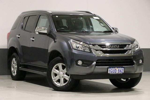 Used Isuzu MU-X UC MY17 LS-T (4x2), 2017 Isuzu MU-X UC MY17 LS-T (4x2) Grey 6 Speed Auto Sequential Wagon