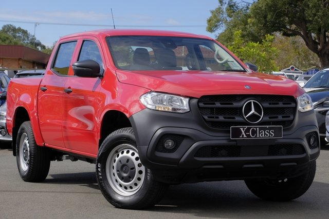 Used Mercedes-Benz X-Class 470 X250d 4MATIC Pure, 2017 Mercedes-Benz X-Class 470 X250d 4MATIC Pure Red 7 Speed Sports Automatic Utility