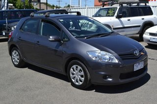 2012 Toyota Corolla ZRE152R Ascent Grey 5 Speed Manual Hatchback