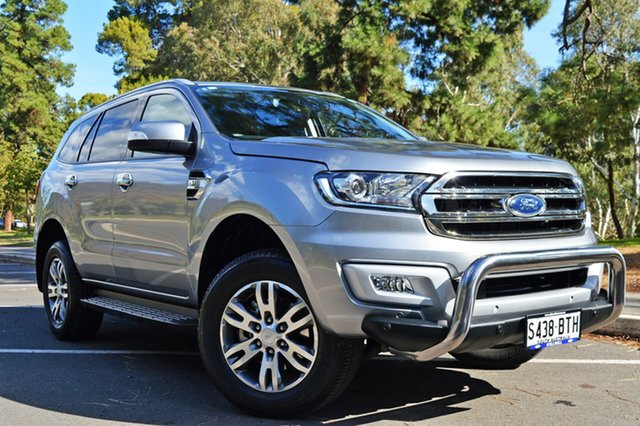 Used Ford Everest UA Trend RWD, 2017 Ford Everest UA Trend RWD Silver 6 Speed Sports Automatic Wagon