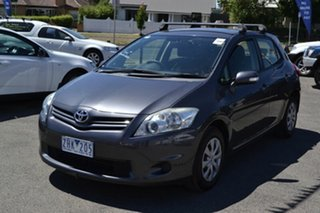 2012 Toyota Corolla ZRE152R Ascent Grey 5 Speed Manual Hatchback.