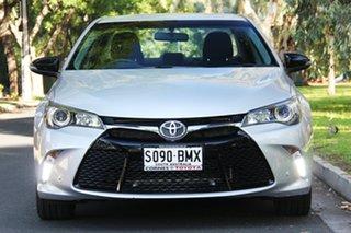 2016 Toyota Camry ASV50R RZ Silver Pearl 6 Speed Sports Automatic Sedan.
