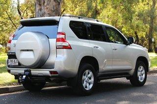 2016 Toyota Landcruiser Prado GDJ150R GXL Silver Pearl 6 Speed Sports Automatic Wagon