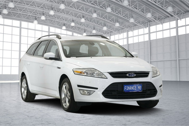 Used Ford Mondeo MC Zetec, 2010 Ford Mondeo MC Zetec White 6 Speed Sports Automatic Wagon