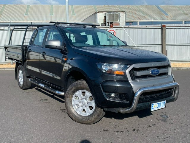 Used Ford Ranger PX MkII XLS Double Cab, 2015 Ford Ranger PX MkII XLS Double Cab Black 6 Speed Sports Automatic Utility