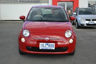 2014 Fiat 500 MY13 POP Red 5 Speed Automatic Hatchback