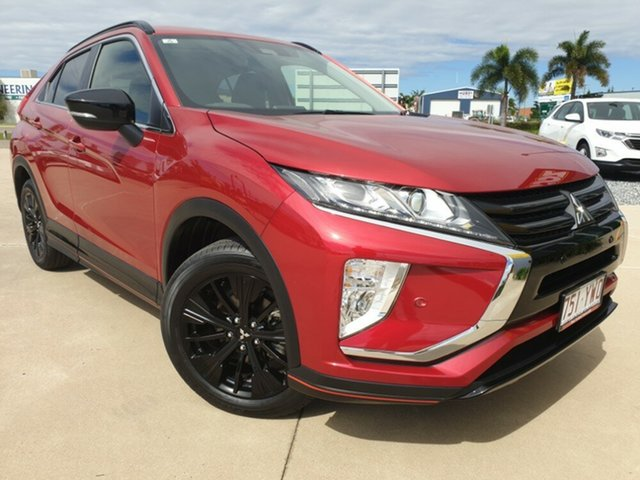 Used Mitsubishi Eclipse Cross YA MY19 Black Edition 2WD, 2018 Mitsubishi Eclipse Cross YA MY19 Black Edition 2WD Red 8 Speed Constant Variable Wagon