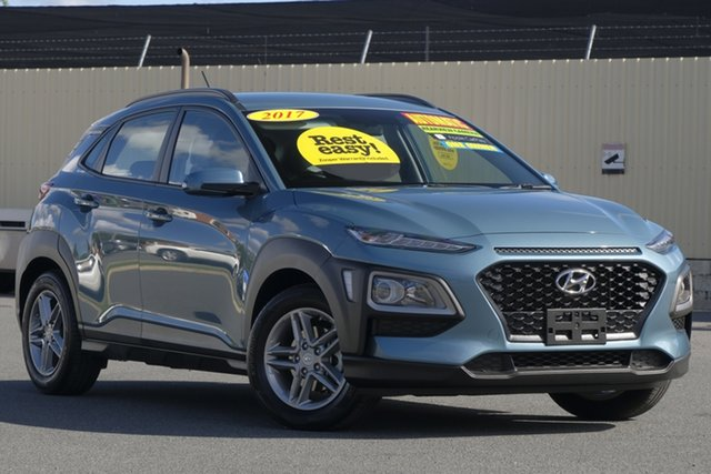Used Hyundai Kona OS MY18 Active 2WD, 2018 Hyundai Kona OS MY18 Active 2WD Green 6 Speed Sports Automatic Wagon