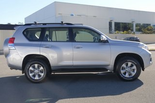 2011 Toyota Landcruiser Prado KDJ150R GXL Silver 5 Speed Sports Automatic Wagon.