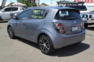 2013 Holden Barina TM MY13 CD Grey 6 Speed Automated Hatchback.