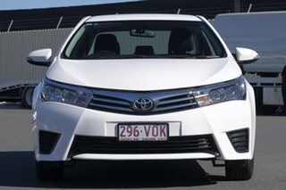 2015 Toyota Corolla ZRE172R Ascent White 6 Speed Manual Sedan